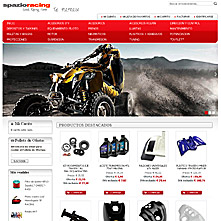 Magento Store SpazioRacing.com - spazioracing QUAD Racing Center. Accesorios para QUAD y ATV