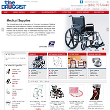 Magento Store Thedruggistrx.com | The Druggist takes pride in having one of the largest inventories of Medical Supplies and Home Healthcare products in the Orange County area