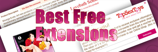Best Free Extensions for Magento Template