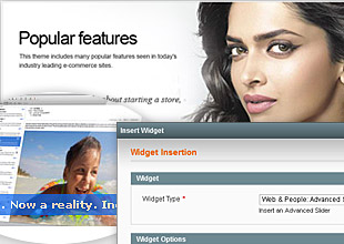 UniversalBlue Magento Template Screenshot