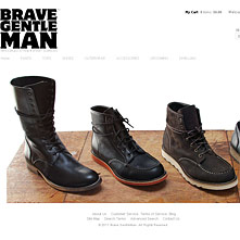 Magento Store BraveGentleman.com - Brave GentleMan is the premiere resource for Principled Attire and Smart Supplies