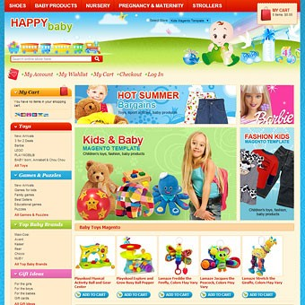 Kids Magento theme