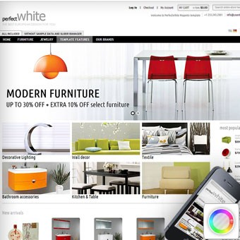 Perfect White Magento theme