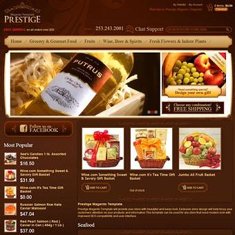 Prestige Magento theme