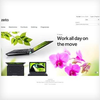 Zeta Magento theme